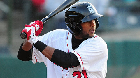 Aaron Hicks drew 78 walks and scored 79 runs for Fort Myers in 2011.