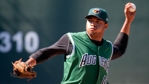 Edwin Escobar has pitched at least six innings in six of his last seven starts.